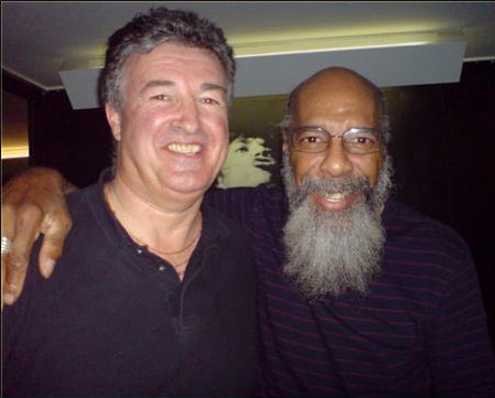 Bernie with Richie Havens