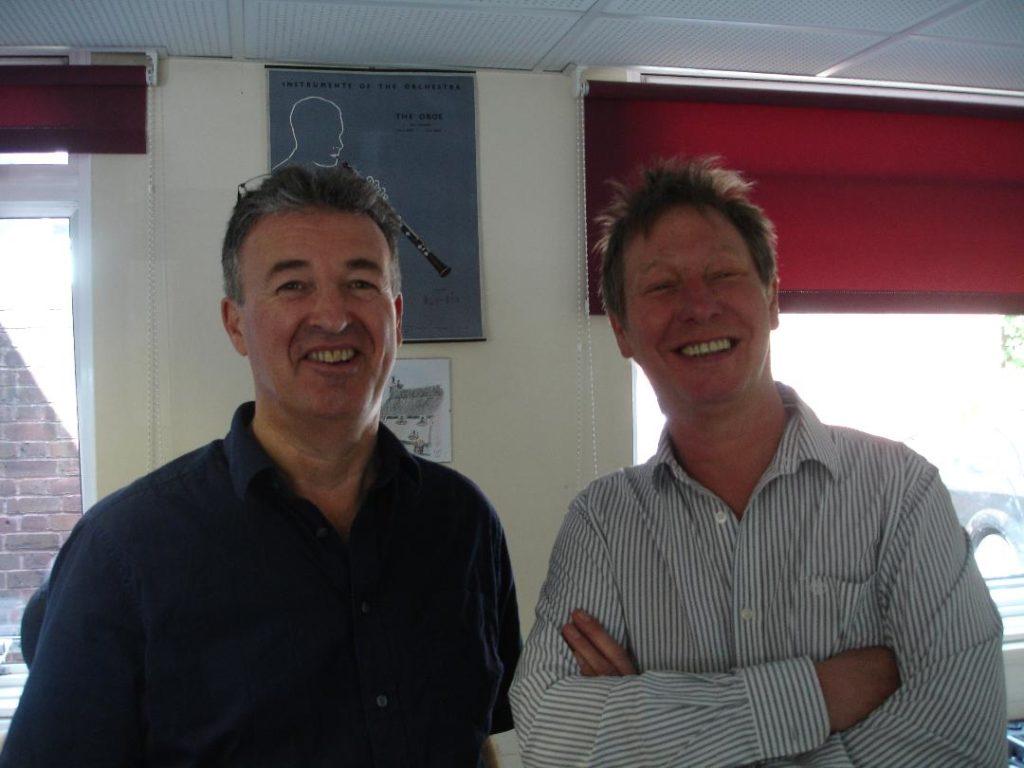 With John 'Rhino' Edwards of Status Quo